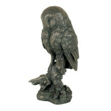 Barn Owl Bronze Figure £50.00