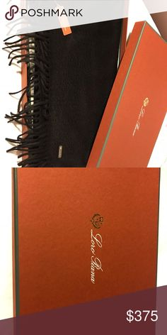 730570a0 Shop Men's Loro Piana Black size OS Scarves at a discounted price at  Poshmark. Description: Loro Piano Men's Cashmere Scarf.