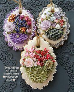 인블러썸ICINGCOOKIE & FLOWER CAKE @inblossom9_woo - 아트반 회원작품 Art course stude...Yooying