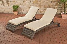 2x Polyrattan Sonnenliege ASTI inkl. dicken Auflagen, sehr bequemes Sonnenliegen Set Jetzt bestellen unter: https://moebel.ladendirekt.de/garten/gartenmoebel/gartenliegen/?uid=16b2d51a-aed9-503b-be22-d607fdf3621f&utm_source=pinterest&utm_medium=pin&utm_campaign=boards #gartenliegen #garten #gartenmoebel