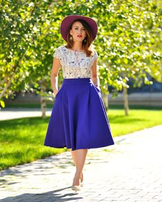 Fusta scurtă Jeanne M. - Colors Of Love Deepest Sea, Hollywood Divas, Sea Colour, Slow Fashion, Winter Collection, Sunny Days, Sunnies, Indigo, Special Occasion
