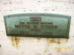 "Meyer ""Mickey"" Cohen."