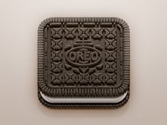 Oreo iOS Icon found on Dribbble.