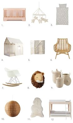A NATURAL LOOK FOR NURSERIES & KIDS ROOMS | THE STYLE FILES