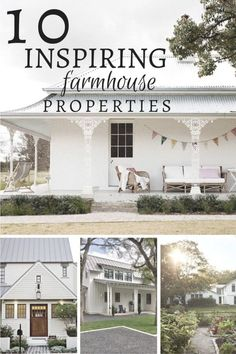Are you obsessed with farmhouse style homes too? I can tell you these 10 inspiring farmhouse exteriors will knock your socks off. Click here! Cottage Farmhouse, Farmhouse Homes, French Farmhouse, Farmhouse Chic, Farmhouse Design, Victorian Farmhouse, Coastal Farmhouse, Farmhouse Ideas, Cottage Style