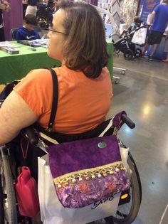 699ed47505a Demi-Premier Mulberry Criss Cross Bag - A Gorgeous Designer Mobility Bag