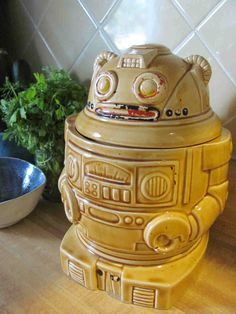 Really need a robot cookie jar