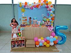 festa da moana simples e barata Moana Birthday Party Theme, 2nd Birthday Party For Girl, Moana Themed Party, Moana Party, Baby Party, Bolo Moana, Moana Moana, Festa Moana Baby, Disney Princess Party