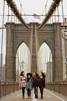 Brooklyn Bridge Pictures + 25 Best Instagram Spots in NYC // Local Adventurer #nyc #instagram #photography #brooklyn #bk #newyork #newyorkcity #usa #travel #bridge