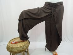 Thai Fisherman Pants Wrap Pants Yoga Boho Gypsy by Labhanshi, $26.00 etsy.com