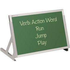 """Magnetic Tabletop Easel - Whiteboard/chalkboard - 12""""h X 18""""w"""