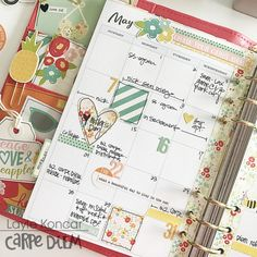 Carpe Diem Summer Days planner from Layle Koncar