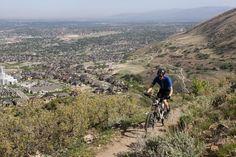 Ann's Trail in Corner Canyon. Draper, Utah