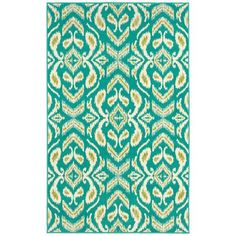 Details about Shaw Rugs Al Fresco Ikat Rug Shaw Rugs, Runner Ducks, Shaw Carpet, Duck Egg Blue, Home Look, Carpet Runner, Hand Knotted Rugs, Ikat, Fresco