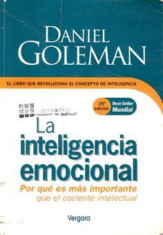 #inteligenciaemocional #danielgoleman #emociones #psicología #inteligencia #escueladecomerciodesantiago #bibliotecaccs