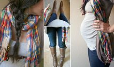 Maternity fashion....If only I look this cute when I'm pregs