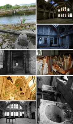 Titanic: The abandoned Harland & Wolff Drawing Office - The birthplace of the Titanic