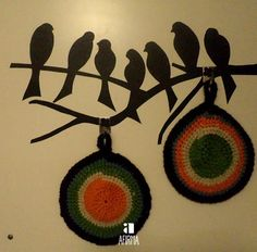 Coisas com fios, peças feitas à mão com muitos fios e imaginação. http://afirma.tumblr.com/fios/thread