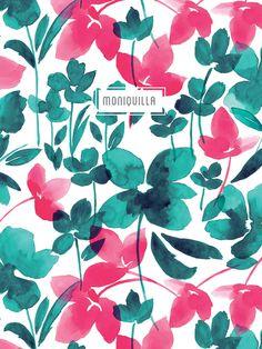 Moniquilla. Diseño de estampados / pattern design - www.moniquilla.com