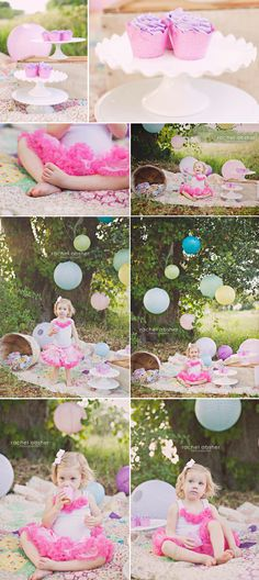 Outdoor birthday shoot for your babes!!