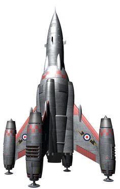 Rocketship (revised) by Paul-Lloyd.deviantart.com on @DeviantArt