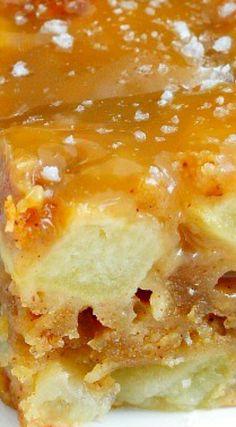 Fresh Apple Cake with Caramel Glaze