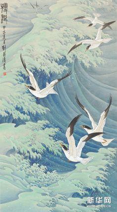 Liu Juiqng.(刘菊清)Цветы, птицы.1. Обсуждение на LiveInternet - Российский Сервис Онлайн-Дневников