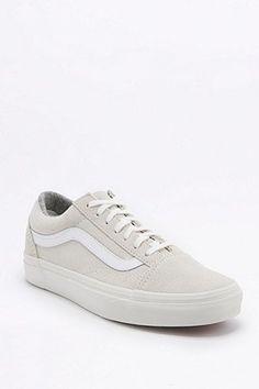 "Vans - scarpe da ginnastica ""Old Skool"" Suede Bianco"