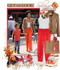 """""""GEt The LOOK: """"Model-Mommy"""" - SOLANGE KNOWLES!!!"""" by enjoyzworld ❤ liked on Polyvore"""