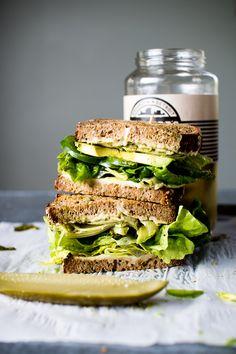 The Ultimate Veggie Sandwich | Flourishing Foodie