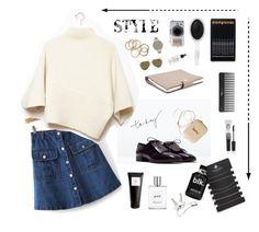 Designer Clothes, Shoes & Bags for Women Victoria Beckham, Acne Studios, Sephora, Polyvore Fashion, Philosophy, Yves Saint Laurent, Topshop, Bob, Zara