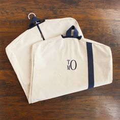 For all life's special occasions, a special outfit is in order - and this personalized garment bag is the best way to keep those outfits safe!