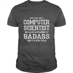 COMPUTER SCIENCE - BADASS - #green hoodie #womens sweatshirts. MORE INFO => https://www.sunfrog.com/LifeStyle/COMPUTER-SCIENCE--BADASS-Dark-Grey-Guys.html?60505