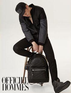 zico chikko model block b sexy officiel hommes photoshoot photographer kong young-kyu fashion