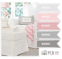 Color Crush 4.14.2013 - Soft Baby Pink & Gray Color Scheme - Photo Card Boutique, LLC
