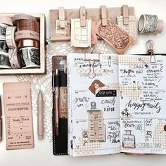 Travel journal pages and inspiration - ideas for travel journaling. Follow the post series below for more ideas and inspiration for keeping a travel journal: http://creativepassport.org/travel-journaling-introduction-guide/
