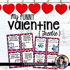 These Valentine's Day cards are perfect for teachers to give to their students, or for you to provide for students who didn't bring any cards! Click here for more Valentine's Day resources!