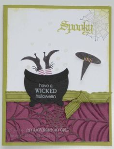 SUO Wicked Cool Witch by 1stampingnightowl - Cards and Paper Crafts at Splitcoaststampers