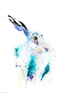 JEN BUCKLEY signed LIMITED EDITON PRINT of my original HARE