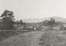 Tarryall - Tarryall is an unincorporated town of cabins and old buildings in eastern Park County, Colorado, United States. The town is located on Tarryall Creek in the eastern edge of the South Park, between Lake George and Jefferson.