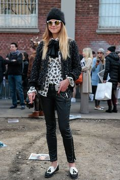 4 street style-approved tips for wearing a winter hat properly
