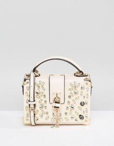 ALDO jewelled handbag.