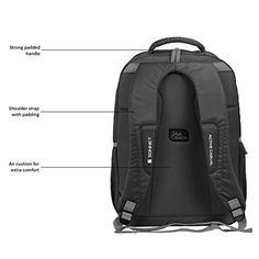 Sonnet School bag Satchels Trail-Ma 37 Liter Mystic R Grey College Bag Casual Backpack: Amazon.in: Clothing & Accessories