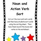 This activity has students identify nouns and verbs by sorting word cards.   The students will sort the word cards by using the noun and verb sorti...