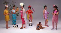 """Wang Qingsong, """"New Women"""", 2000"""