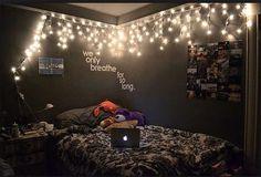 Image via We Heart It https://weheartit.com/entry/148112633 #apple #grey #laptop #lights #macbook #room #tumblr