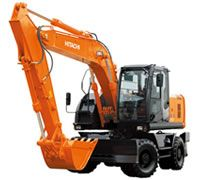 Hitachi Construction Machinery Asia & Pacific : Excavators : Wheeled Excavators