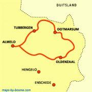Het Twentepad biedt wandelaars een goed beeld van de gevarieerdheid van de Twentse noordoosthoek: havezaten en landgoederen als Singraven en Huneborg en natuurgebieden zoals het Springendal en de oevers van de Dinkel.