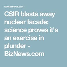 Numbers crunched by the CSIR show that technological advances have already made renewable energy a far cheaper option than nuclear.