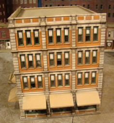 HO Scale Building Bachmann Dept Store Built Weathered | eBay